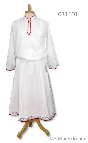 Дълга женска шопска риза за литак