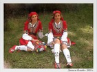 National dress from Razlog - Upper, shirt, apron, towel, socks, slippers