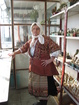 "Bulgarian costume Malchika village, Pleven - shirt, pinafore, apron ""shorts"" overcoat ""kutsaveyka, cloth"