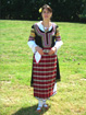 Handmade costume from Kjustendil.