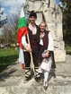 Kapanski traditional Bulgarian costumes
