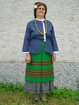 Bulgarian woman's costume. Pisarevo village, municipality of Gorna Oryahovitsa.