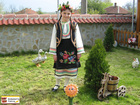 Bulgarian authentic costume from the village Vardim, Svishtov municipality.