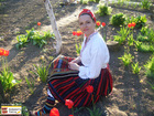 Bulgarian traditional costume from Oryahovo, North Bulgaria