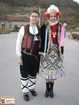 Dobrudjanski costumes from the village of Glavan, Silistra
