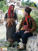 Traditional folk costumes from Nedelino, Bulgaria