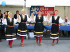 "Bulgarian folk dances performed by ""La Ronde Folklorique"" on Europe day - 11th May 2007, Lyon - France."