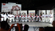 Folk Formation Etnofolk in Ohrid, Macedonia