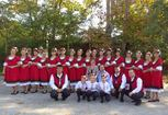 "New costumes of Bulgarian Folk Dance Club ""Sedef"""