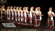 Atanas Manchev Folklore Ensemble, Burgas - Leader and choreographer Dimitar Tonev