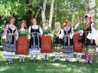 "Bulgarian folk choir Zornitsa at Folklore festival ""Pautaliya 2007"" - Kyustendil, Bulgaria"