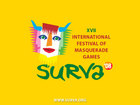 International Festival of Masquerade Games Surva 2008 - Poster