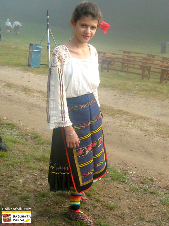 Traditional Bulgarian Costume from village Butan, Municipality Kozloduy