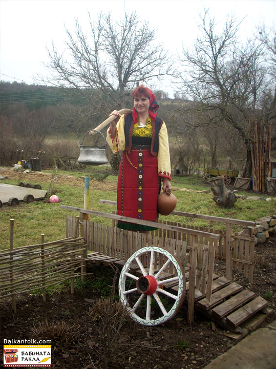 Authentic costume from the village Lalkovo, Municipality Elhovo, Yambol District.