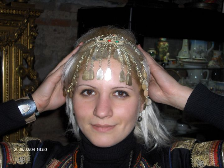Head decoration - prochelnik