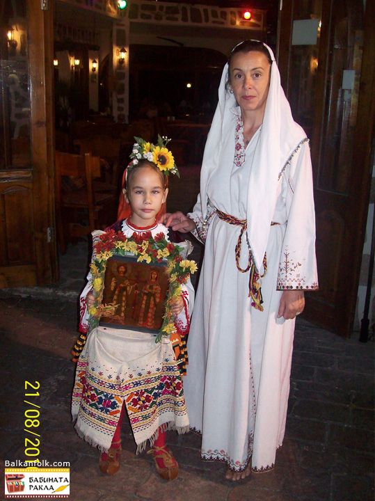 Traditional Bulgarian shirts (Kapanski) Getsovo village, Razgrad