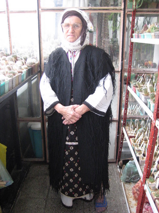 Traditional Bulgarian costume from Varna Region