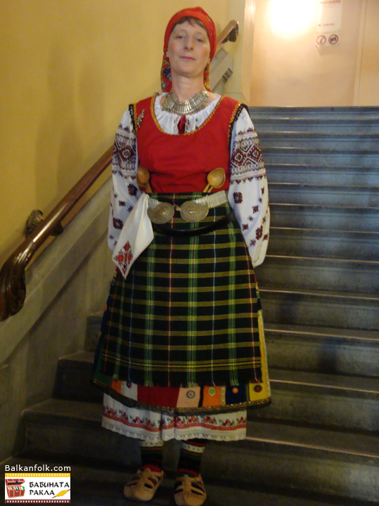Handmade costume from Stara Zagora. (except blouse)
