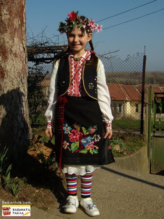 Authentic costume from Vardim village, municipality of Svishtov