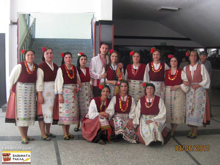 Bulgarian women's costumes from Zimnitsa, Bourgas