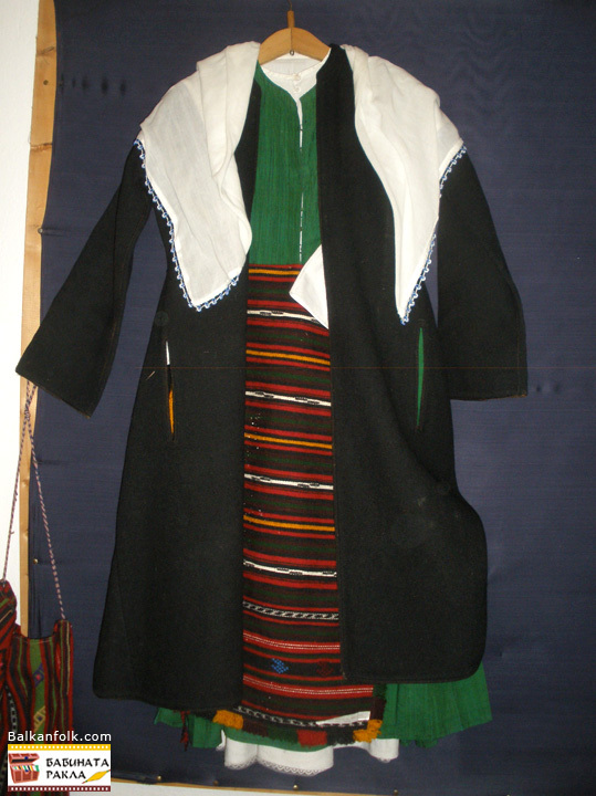Bulgarian winter costume from s.Siva reka, Svilengrad