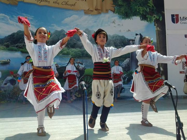 Children's dance group
