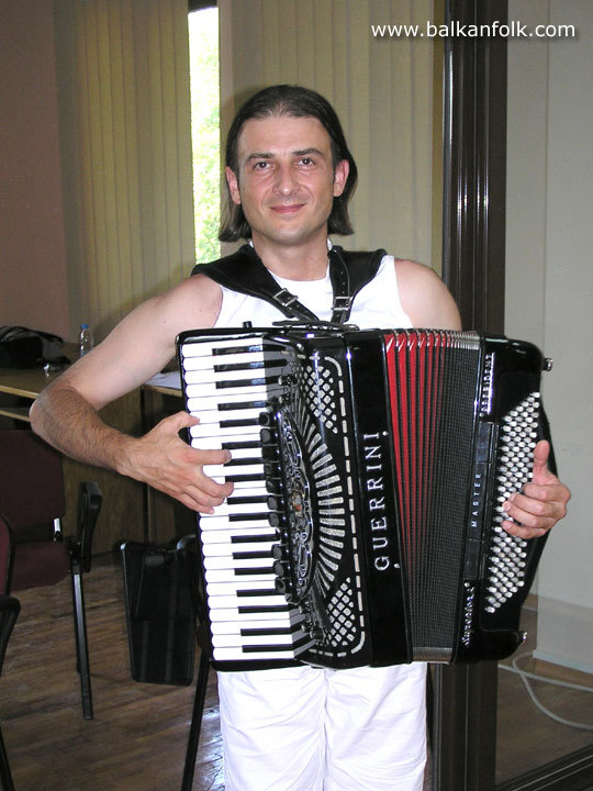 Predrag Ivanović - Teacher accordion serbian music