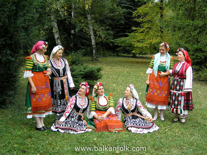 Bulgarian folklore choir Zornitsa, Sofia