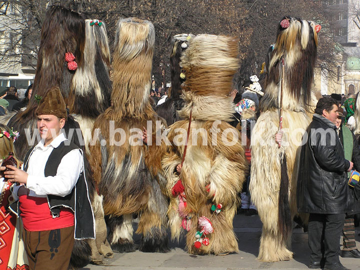 Kukeri - Festival of the Masquerade Games Surva 2006