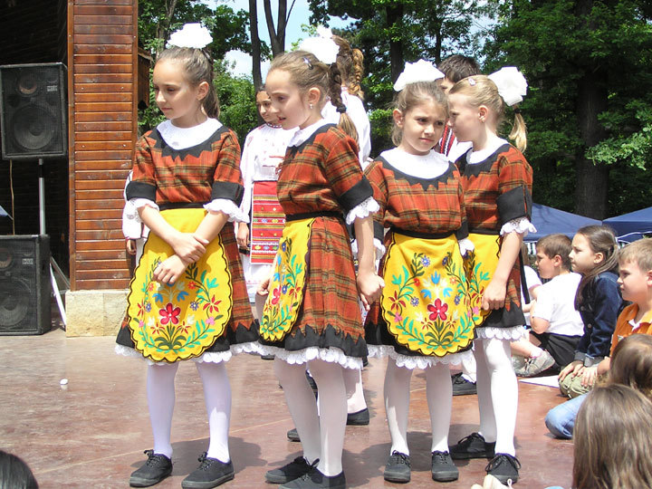 Children's folklore group Mladost - Montana