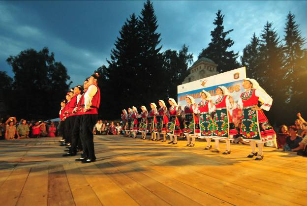 Ensemble Pirin from Brno in Koprivshtitsa
