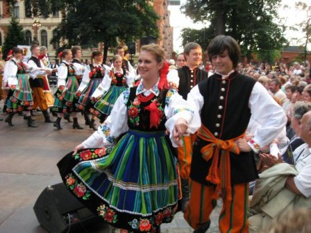 Folk Festival in Lodz, Poland - July 2011