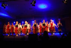 "Folklore dance ensemble ""Mladost"" on International folklore festival PRAGUE 2011"
