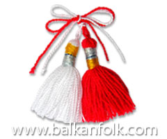 Grandmother Marta, traditional Bulgarian custom (Baba Marta)