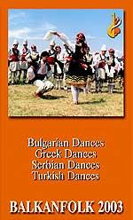 Búlgaro, turco y griego danzas folclóricas