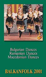 Búlgaro, rumano y macedonio danzas folclóricas