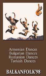 Bulgare et roumain danses folkloriques