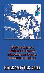 Búlgaro, macedonio y serbio danzas folclóricas