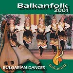 CD de musique folklorique bulgare de danses