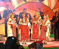 Zornitsa Quartet - winners of the singing competition of authentic folklore